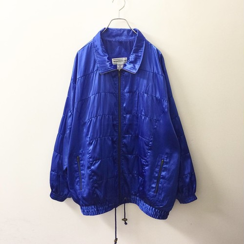 westbound ビッグシルエットジャケット ブルー色 size XL メンズ古着