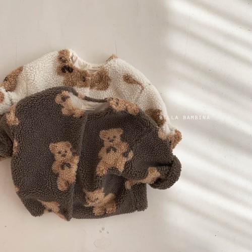=sold out= winter bear jacket〈BELLA BAMBINA〉【baby】