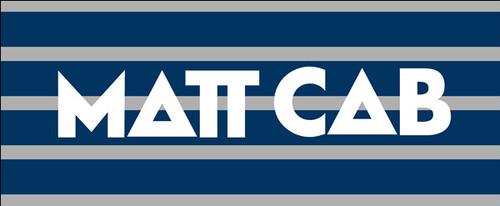 MATT CAB ロゴ タオル