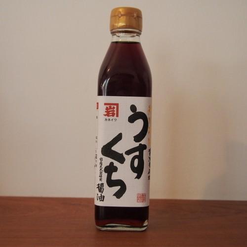 うすくち醤油(無添加) 300ml
