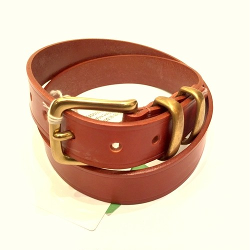 HL6-30MM LeatherBelt LightBrown