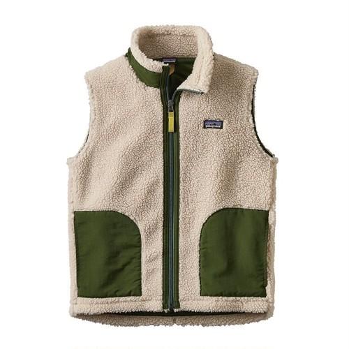 30% OFF    Patagonia Kids' Retro-X Vest (NGLDカラー) キッズ パタゴニア レトロ ベスト