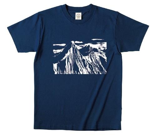 Johan Olofsson Alaska Tシャツ パープルネイビー サイズ XL