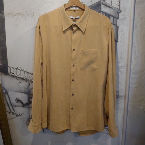 fake suede shirt