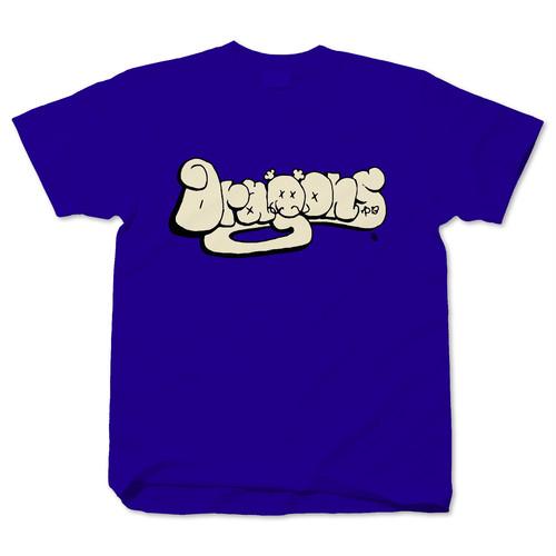 Dragons×El Topo ドラゴンズ グラフィティロゴ cobalt blue