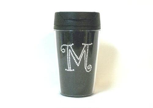 イニシャルスワロタンブラー M(黒)