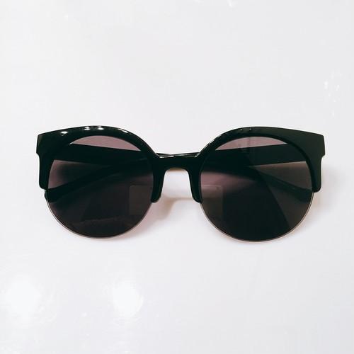 Eyewear♡ラウンド02 ブラック