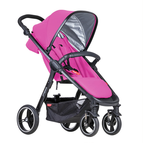 phil&teds smart buggy Raspberry フィルアンドテッズ スマート