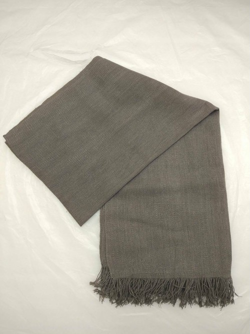 GBJWブータン産ストール18003 Dog wood Wild silk(野蚕) 100%