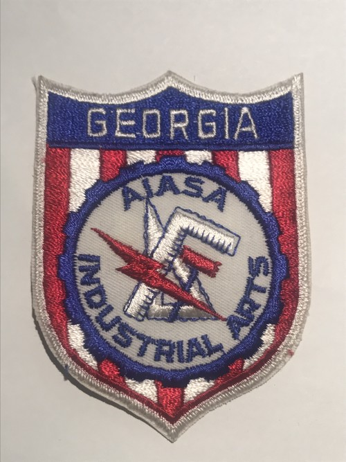 """Patch""""AIASA INDUSTRIAL ARTS"""""""
