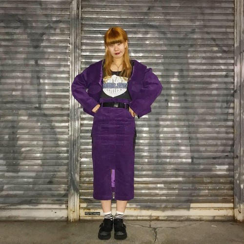 【Flapper's】corduroy skirt