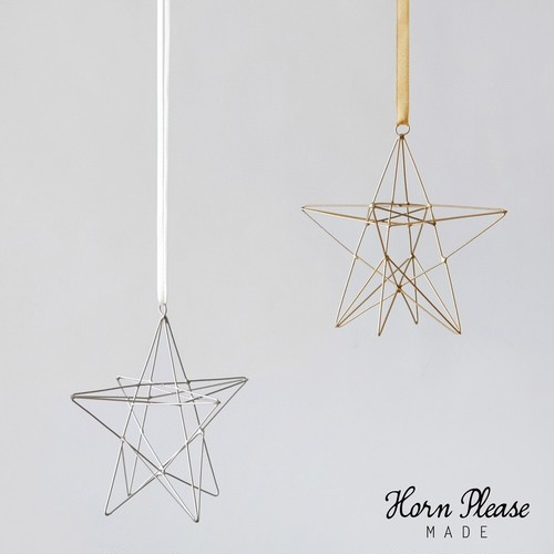 WIRE ornament roll star