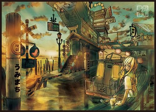B5『はじまりの街』カード