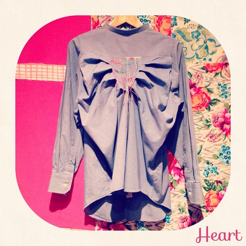 Remake Shirt ♡ Heart