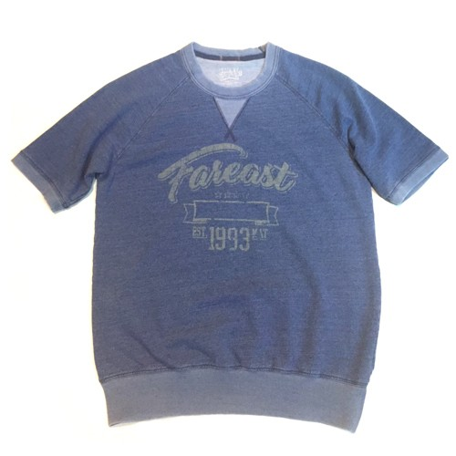 FirstClass! INDIGO SWEAT TEE