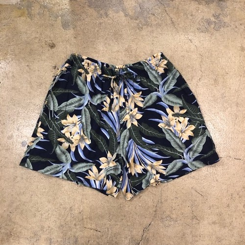 Analogy Floral Short Easy Pants
