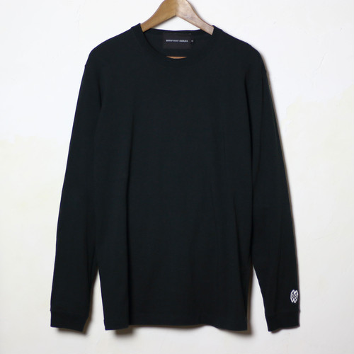 【HIROYUKI OBARA 】USCTシャツ 長袖 ブラック