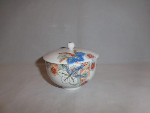 日陶蓋付湯吞 Nito porcelain one tea cup(with cover )