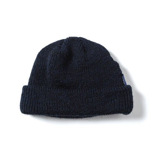 【SON OF THE CHEESE】WOOL BEANIE(NAVY)