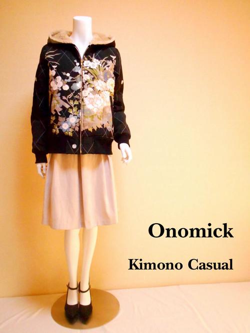 キルティング着物パーカー Kimono Parker LJ-092/M