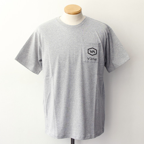 POCKET HEX RVCA SS (GREY)
