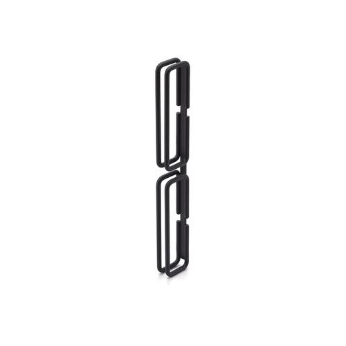 【MIYAMA-W ドアハンドル 両面タイプ(NOU-1404)】サンドブラック