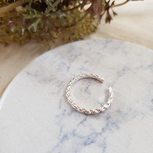【送料無料】 silver925 Rope ring (ロープリング)