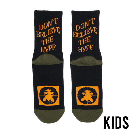 SURFSKATECAMP KIDS #Don't Believe The Hype Black
