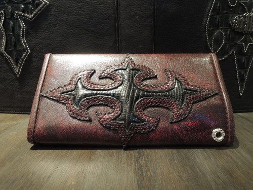 STEELO  スティーロ LONG WALLET No2 FX Leather Red