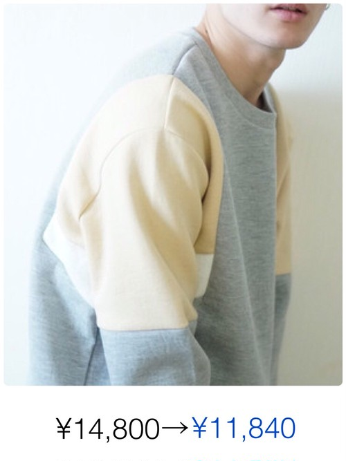 POINT COLOR SWEAT
