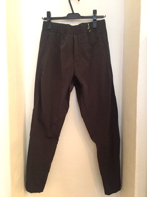 Stretch Tapered Zip Pants Khaki
