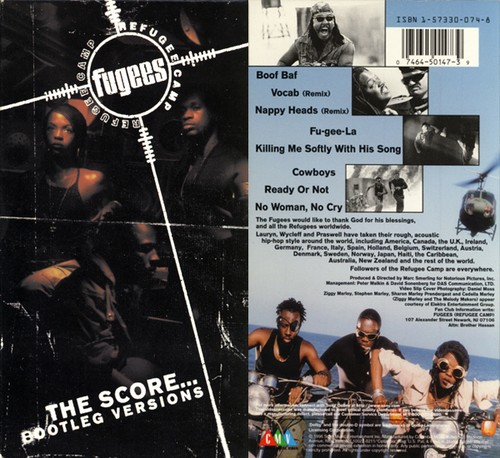 【VHS】Fugees / THE SCORE...BOOTLEG VERSIONS