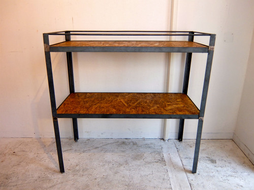 Iron Frame Open Shelf