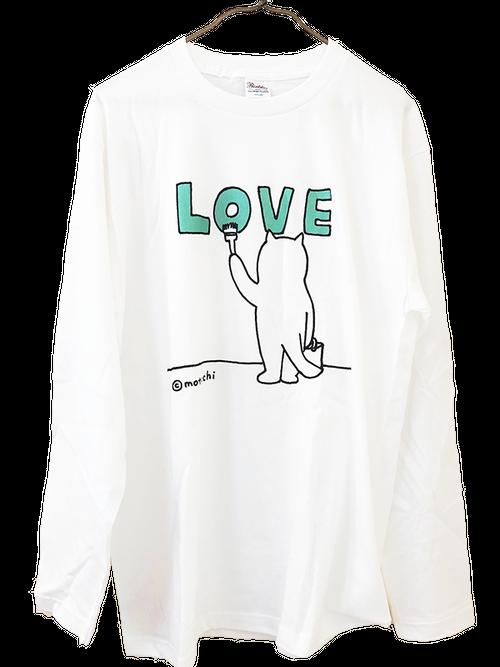 「LOVE」ロングスリーブTシャツ