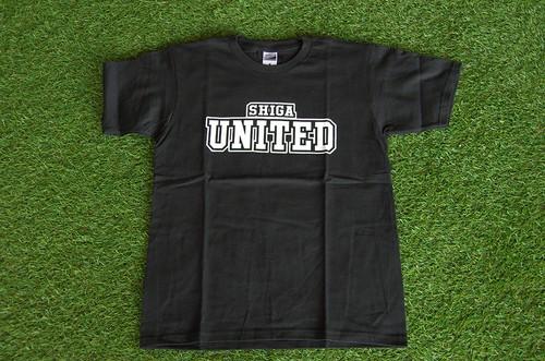 SHIGA UNITED Tシャツ ブラック
