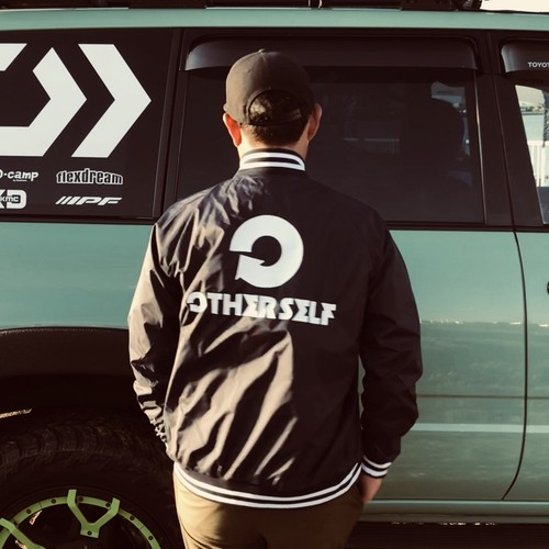 Stadium jacket  /  NAVY