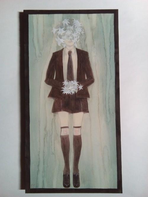 オリジナル原画・少年の棺 -『1999年の夏休み』によせて/茨弓月