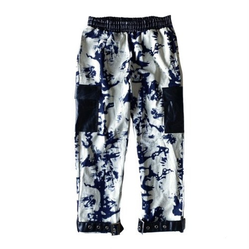 ILL IT - TIE-DYE SWITCHED CARGO PANTS -