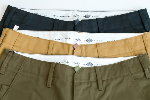 saby×Dickies シームレスパンツ