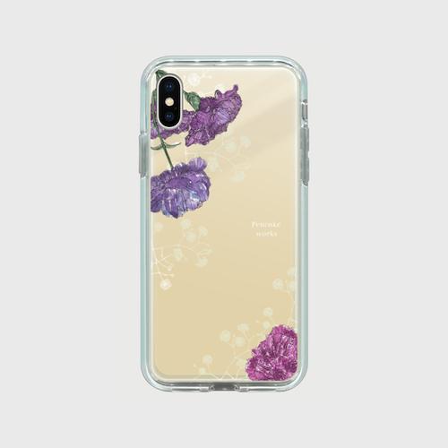 iPhone ミラーケース / 煌く冬