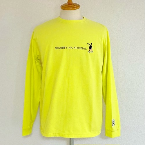 SHABBY HA KORINAI Long Sleeve T-shirts Yellow