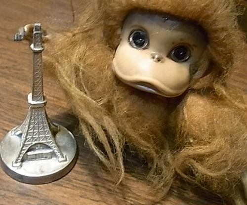 60'S KAMER サル人形