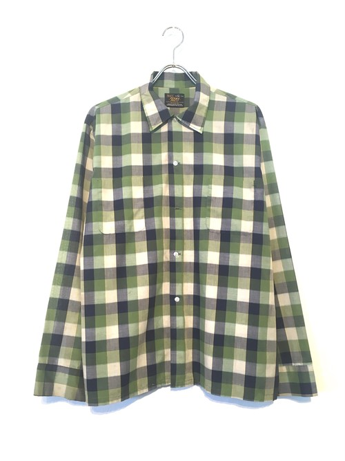 """Sears"" Check pattern shirt"