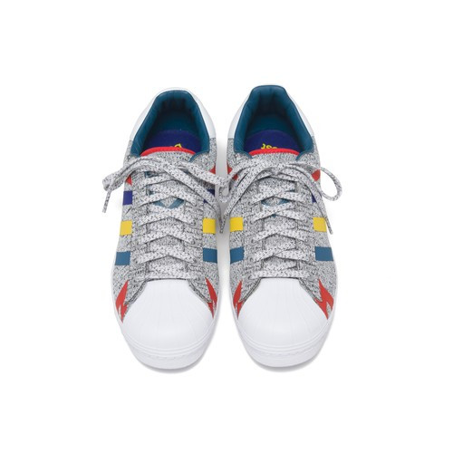 WM × adidas Originals【Super Star Boost】- WHITE