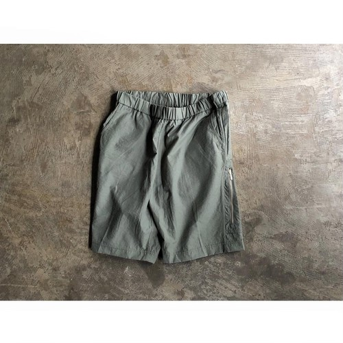 FLISTFIA (フリストフィア) Nylon Cotton Zip Pocket Shorts
