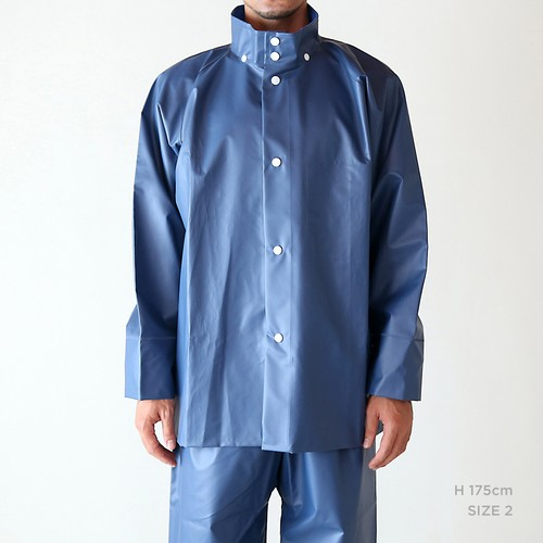 G-13 二部式雨衣 上