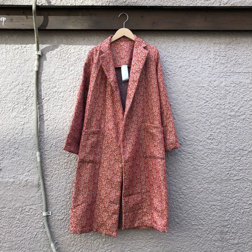 Jacquard chester jacket カラー: vermilion