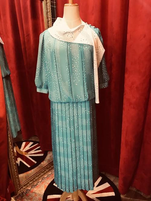 英国 Vintage ワンピース
