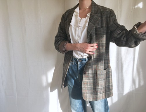 L.L.Bean plaid jacket