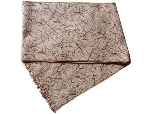 日本の職人の逸品を 04 御幸毛織 イングランド製ウール100% マフラー